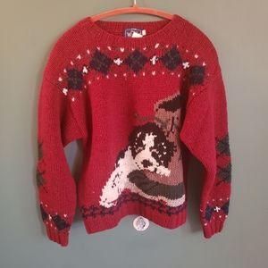 Woolrich 100% wool sweater